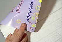 изготовление наклеек