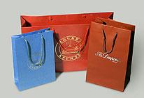 Бумажные пакеты.  Сборка и изготовление бумажных пакетов.