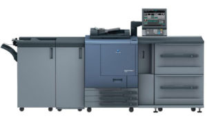 Новая цифровая печатная машина Konika bizhub